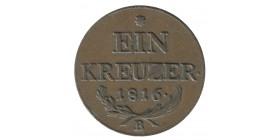 1 Kreuzer - Autriche