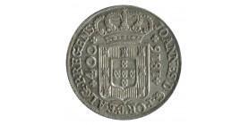 400 Reis Jean VI - Portugal Argent