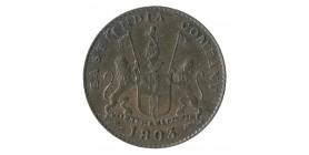 5 Cash Présidence Madras - Inde Est Compagnie