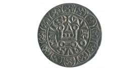 Gros Tournois Croix Cantonnée de 4 Points - Philippe IV