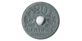 20 Centimes Etat-Français Type 20