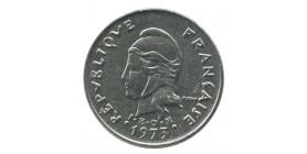 10 Francs - Nouvelle Calédonie