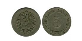 5 Pfennig Allemagne