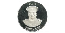 2 Pa'anga - Tonga Argent