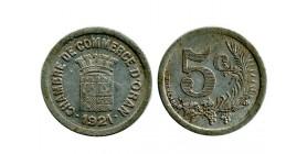5 Centimes Chambre de Commerce algerie