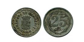25 Centimes Chambre de Commerce algerie