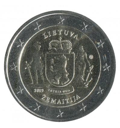 2 Euros Commémorative Lituanie 2019
