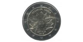 2 Euros Commémorative Lettonie 2019