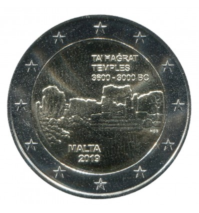 "2 Euros Commémorative Malte 2019 ""F"""