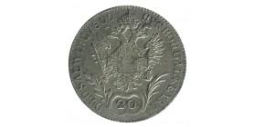 20 Kreuzer Ferdinand Ier - Autriche Argent