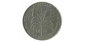 1 Franc - Guadeloupe
