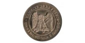 """Médaille Satirique du Plus Grand des Empereurs ...""""Vampire de la France"""""""