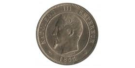 Module de 10 Centimes Napoléon III Visite de la Monnaie de Lille Bronze