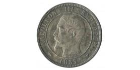 Module de 10 Centimes Napoléon III Visite de la Monnaie de Lille Argent
