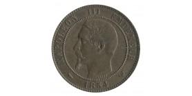 Module de 10 Centimes Napoléon III Monument Erigé à la Bourse de Lille Bronze