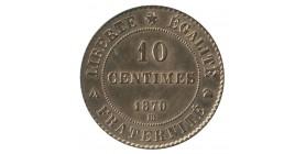 10 Centimes Dupré Epreuve de Strasbourg