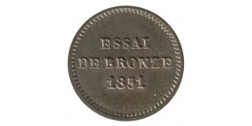 Module de 1 Centime Louis Napoléon Bonaparte Essai