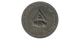 1/10e de Décime Associations Fraternelle des Ménages Bronze