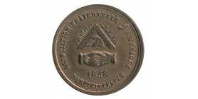 1 Franc Associations Fraternelles des Ménages Bronze