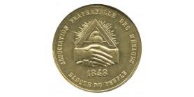 5 Francs Associations Fraternelles des Ménages Laiton