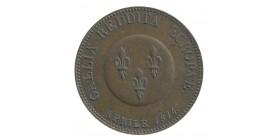 Module de 5 Francs Alexandre Ier Légende Latine Bronze