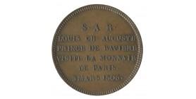 Module de 2 Francs Visite du Prince de Bavière Bronze
