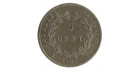 5 Centimes Charles X - Colonies Générales