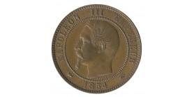 Module de 10 Centimes Napoléon III Visite à la Monnaie de Paris le 3 Mai 1854 Bronze