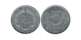 5 Pfennig Allemagne - Allemagne Democratique
