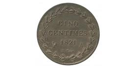 5 Centimes Louis XVIII Essai