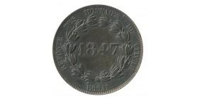 Module de 5 Cent Louis-Philippe Refonte des Monnaies