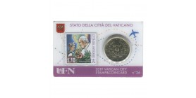 Coincard Timbre Vatican 2019 - n°26