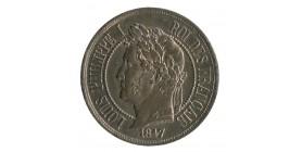 2 Centimes Louis-Philippe Ier Type à la Charte de 1830