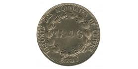 Module de 5 Centimes Louis-Philippe Ier Refonte des Monnaies de Cuivre Essai