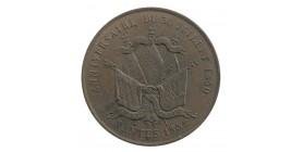 Module de 5 Francs Louis-Philippe Ier - Médaille Commémorative Nantes
