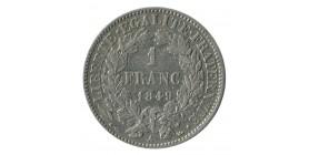 1 Franc Cérès Deuxième République