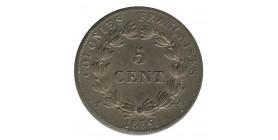5 Centimes Louis-Philippe Ier - Colonies Générales