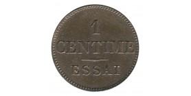 1 Centime Louis-Philippe Ier de Barre Essai