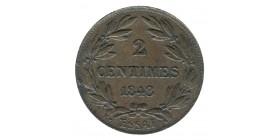 2 Centimes Louis-Philippe Ier Type Bovy Essai