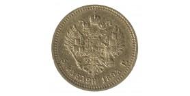 5 Roubles Alexandre III - Russie