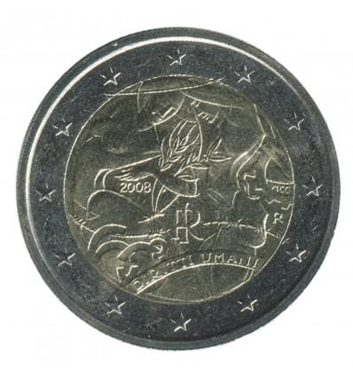 2 Euros Commémoratives Italie 2008