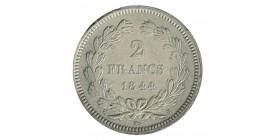 2 Francs Louis-Philippe Ier Essai de Domard en Carton