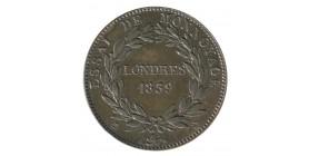 Module de 10 Centimes Louis-Philippe Ier Essai de Monnoyage Londres