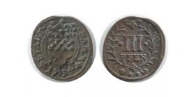 3 Pfennig Allemagne - Hamm