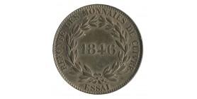 Module de 1 Décime Louis-Philippe Ier Refonte des Monnaies de Cuivre Essai