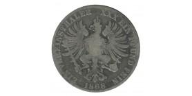1 Thaler Guillaume Ier - Allemagne Prusse Argent
