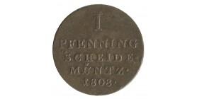 1 Pfennig - Allemagne Wesphalie