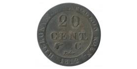 20 Centimes - Allemagne Wesphalie