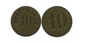 10 Wert Marke Allemagne - Monnaie de Necessite