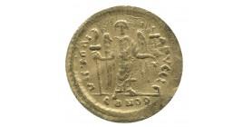 Solidus Justinien - Constantinople